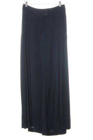Ashley Brooke Pantalón anchos azul oscuro estilo sencillo