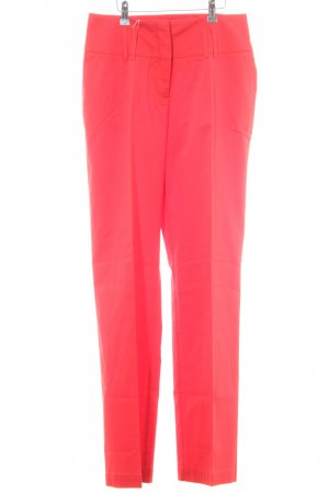 Ashley Brooke Pantalón anchos rojo claro estilo «business»