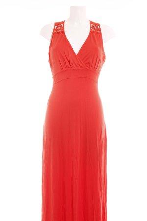 Ashley Brooke Maxi abito rosso chiaro stile casual