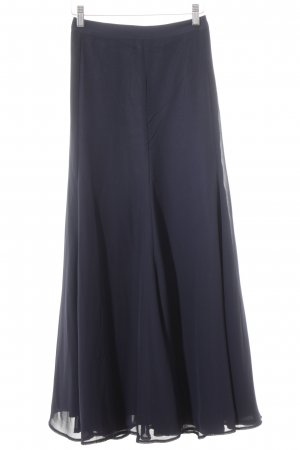 Ashley Brooke Maxirock dunkelblau Elegant