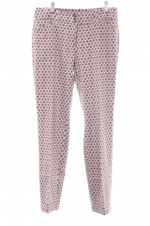 Ashley Brooke Pantalon cigarette motif abstrait style décontracté