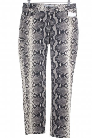 Ashley Brooke Pantalon cigarette motif animal style extravagant