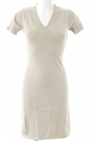Ashley Brooke Vestido estilo camisa crema estilo sencillo