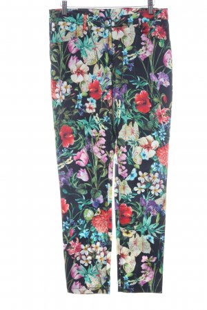 Ashley Brooke Pantalon en jersey motif de fleur style Boho