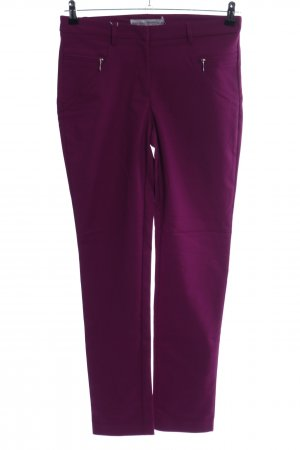 Ashley Brooke Stretch Trousers pink casual look