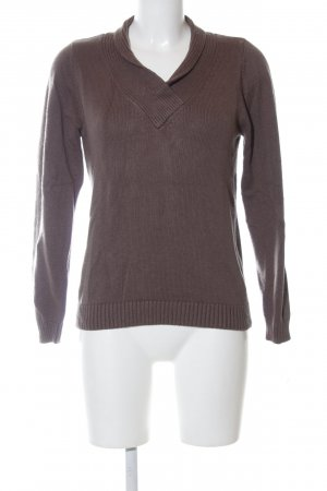 Ashley Brooke Knitted Sweater brown casual look