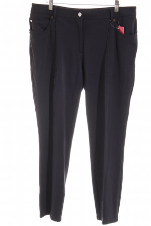 Ashley Brooke Sweat Pants dark blue casual look