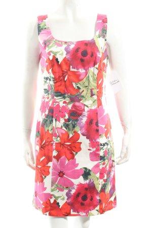 Ashley Brooke Trägerkleid Blumenmuster klassischer Stil