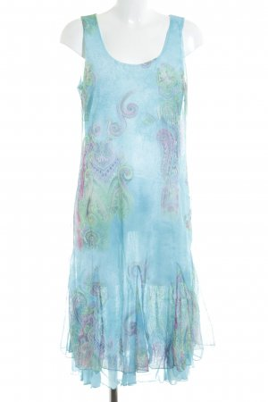 Ashley Brooke Overgooier lichtblauw paisley patroon extravagante stijl