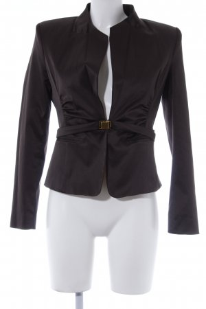 Ashley Brooke Between-Seasons Jacket black brown-dark grey elegant