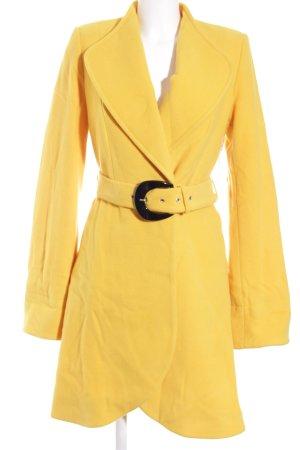 Ashley Brooke Winter Coat yellow simple style