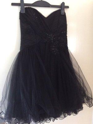 Ashwi Paris Kleid mit Strassteinen Abendkleid