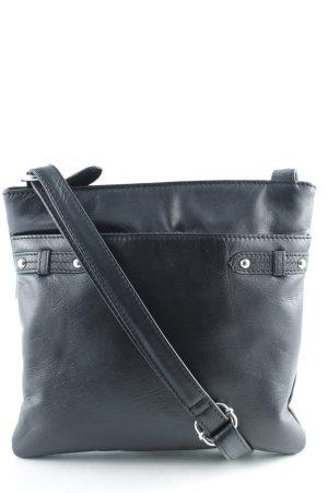 Ashwood Minitasche schwarz klassischer Stil