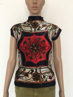 Print Shirt multicolored silk