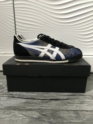 Asics Lace-Up Sneaker dark blue-white