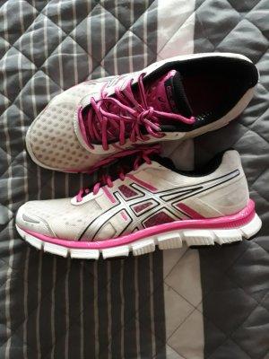 Asics Zapatillas blanco-rosa