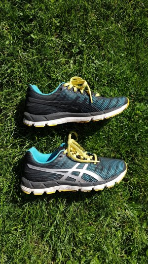 Asics Sneakers yellow-blue