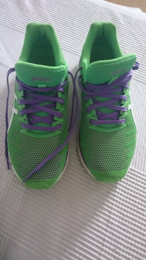 Asics Lace-Up Sneaker blue violet-green
