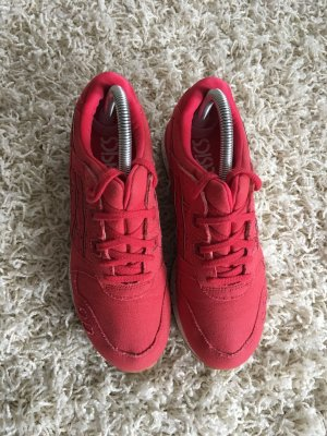 Asics Lace-Up Sneaker brick red