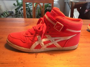 ASICS Kaeli MT CV in weiß-Koralle *** HIGH TOP*** EU 39/ US 7 1/2