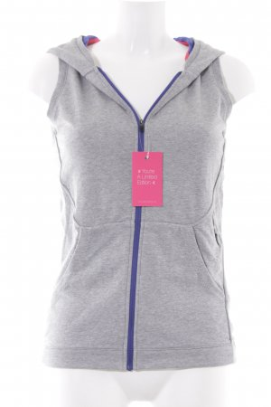 Asics Hooded Vest grey-light grey athletic style