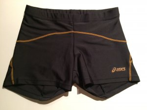 Asics Laufpants, Gr. XS 32-34, schwarz, sehr guter Zustand