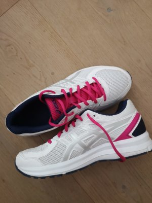 Asics Lace-Up Sneaker white-pink