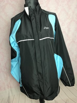 Asics Sports Jacket black-light blue