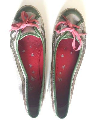 Asics Onitsuka Tiger Ballerinas grau/grün 37
