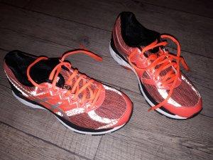 Asics Zapatos brogue naranja neón