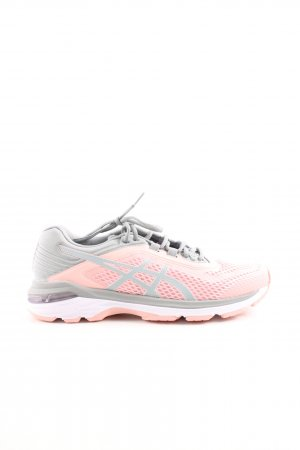 Asics Lace-Up Sneaker pink-light grey athletic style