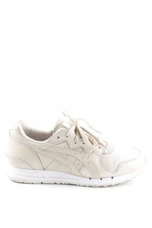 Asics Lace-Up Sneaker oatmeal athletic style