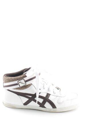 Asics Sneaker stringata multicolore stile atletico