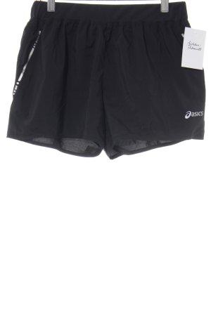 Asics Shorts schwarz sportlicher Stil