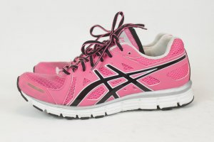 Asics Lace-Up Sneaker pink synthetic