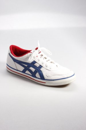 Asics Sneaker weiß-blau-rot