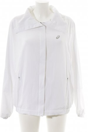 Asics Sports Jacket white athletic style