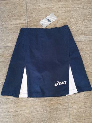 Asics Falda midi azul