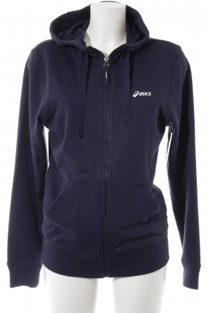 Asics Sweat Jacket dark blue casual look