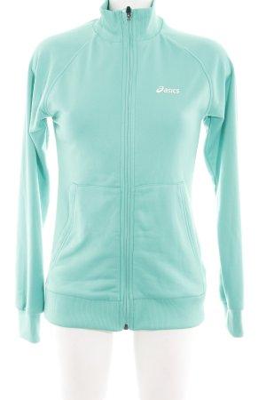 Asics Sweat Jacket turquoise casual look