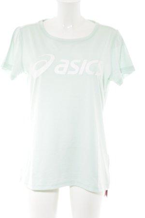 Asics T-Shirt türkis Casual-Look