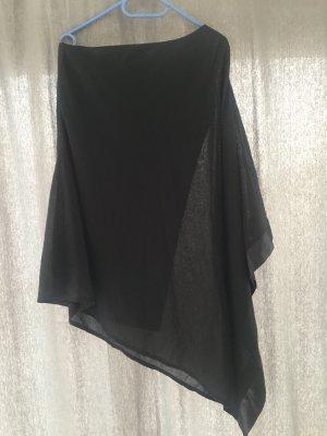 b.p.c. Bonprix Collection Eénschouderjurk zwart Polyester