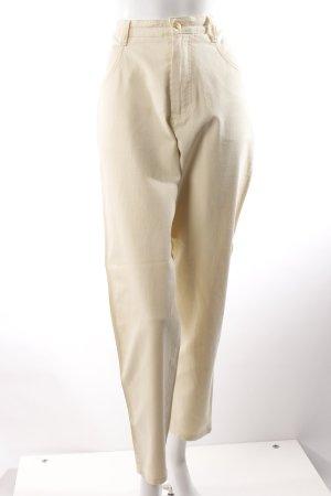 Askarì High Waist-Jeans blassgelb