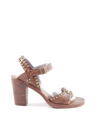 asn Slingback Pumps brown street-fashion look