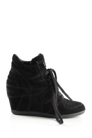 asn Wedge Sneaker schwarz Casual-Look