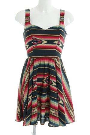 Asos A-Linien Kleid Ethnomuster Ethno-Look
