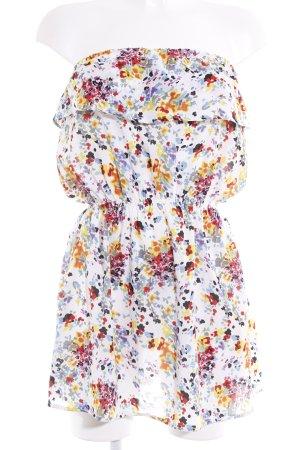 Asos A-Linien Kleid Farbtupfermuster Beach-Look