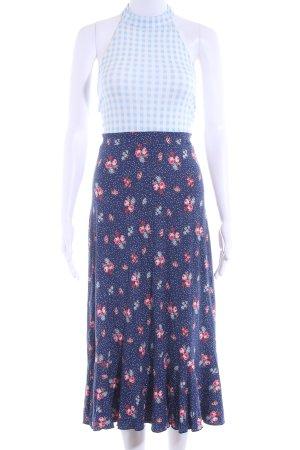 Asos A-Linien Kleid florales Muster Boho-Look
