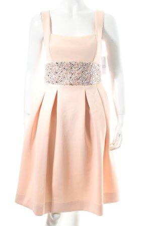 Asos A-Linien Kleid rosé-silberfarben Paillettenverzierung
