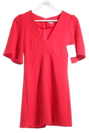 Asos A-Linien Kleid rot klassischer Stil